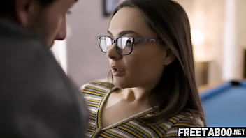 Small Teen With Glasses Aften Opal Gets Fucked By Superstar