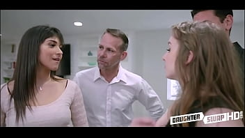 Dad's Swap Their Petite y. Daughters Following An Argument