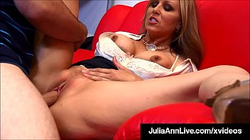 Watch Professor Pussy! Hot Teacher Julia Ann discovers her student jerking off to some porn, which makes her so horny she has to fuck his young cock!! Full Video & Julia_Live @ JuliaAnnLive.com! preview