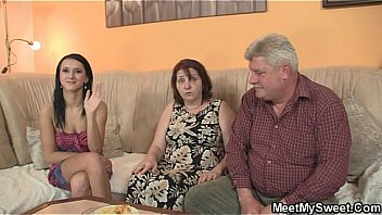 she is seduced by his old parents
