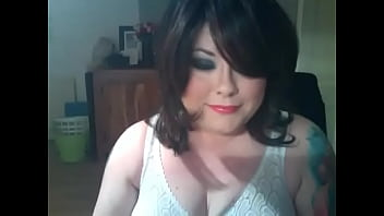 Chubby Domme Smokes A Cigar In Sheer Gloves