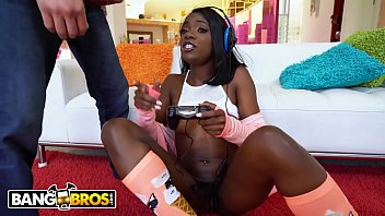 Watch black gamer get pounded preview