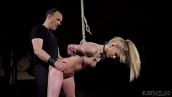 Slave endures pain and humiliation in the fetish sex dungeon