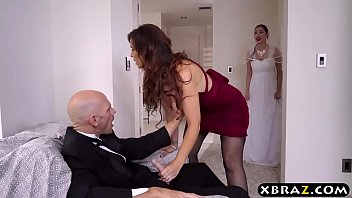 m. of the bride fucks the groom right before the wedding