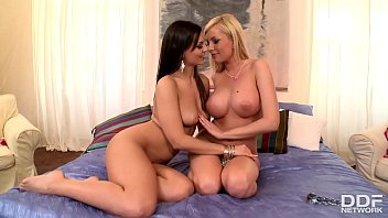 Naughty lesbian Love - Stunning sex with Eve Angel & Donna Bell