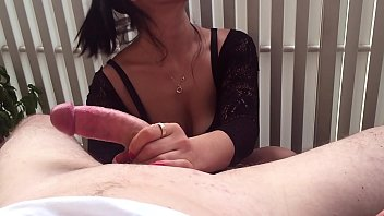 Watch Edging handjob teasing at the campsite - slow and passionate preview