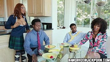 The whole family helps out dad with his erectile disfunction - PART 1