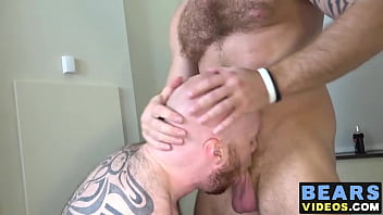 Zack Acland enjoys hairy anal sex with Chris Wydeman