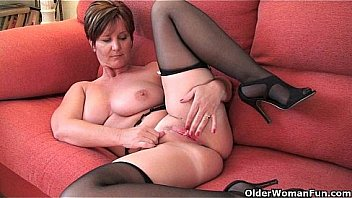 50yr old uk milf deep dirty anal solo - 3 part 1