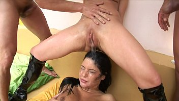 Young nasty harlots Angelica Heart and Britney were invited to private party
