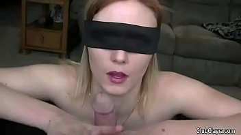 Watch shared wife with daddys friends • Beautiful wife blindfolded and shared by her husband (humiliation, old guy, hard, moans) preview