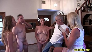 The Lady taking a Census Gets into a Orgy