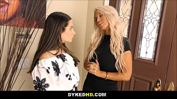 Sexy Young Cute Petite Cassidy Klein Fucked By Hot Big Tits MILF Bridgette B