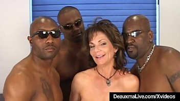 Anal Banging Cougar Deauxma is...
