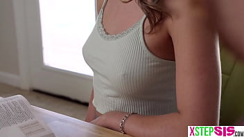 My sexy stepsister and her best friend both had perfect small titties on them