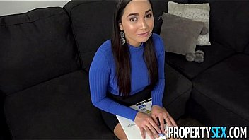 PropertySex - Curvy real estate agent fucking her new client