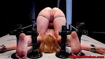Images - Lezdom dyke clamping subs pussy lips