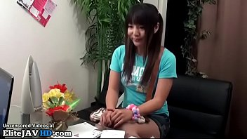 Jav massage with sweet teen becomes too hot