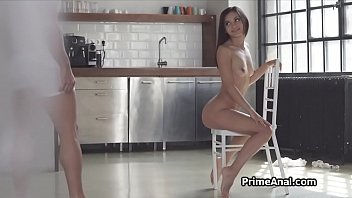 Exotic girlfriend craves for anal cocking