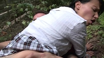 Hard & rough sex outdoors in the ghetto with short skinny school university girl Thumbnail
