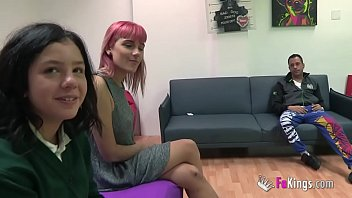 alba and vivi 039 s first threesome for fakings