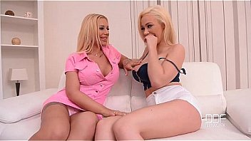 two voluptuous bombshells Kyra Hot and Chessie Kay seduce plumber Kai Taylor in the bathroom