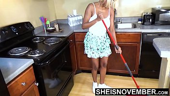 Giant Areolas Big Hangers On Hot Step Daughter With Puffy Dark Nipples And Large Breasts , Petite Busty Ebony Msnovember Mopping Warm Room Ahead Of Dad Arrival In Mini Skirt HD On Sheisnovember Thumbnail