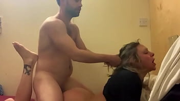 Cheating wife getting fucked by personal trainer