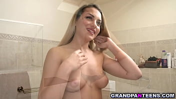 Lovely Bianca Booty is really a tease to her Landlord