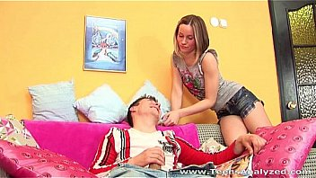 Teens Analyzed - This teen beauty really think her boyfriend would just lick her anus