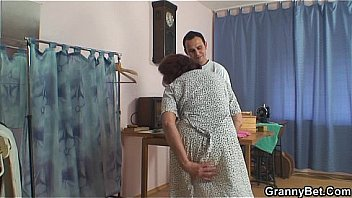 sewing old women swallows customer 039 s cock