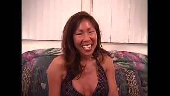 Hot asian babe Teah gets her pussy pounded by white hunk