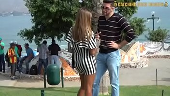 Huge Ass Peruvian Milf Gets Fucked By A White Spanish Guy