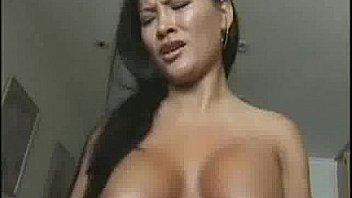 Asian on sybian