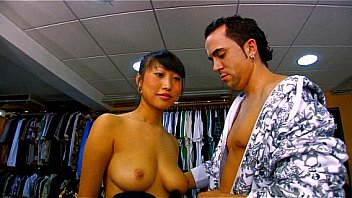 Busty asian babe Sharon Lee...