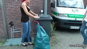 German Neighbor Fuck Sexy Red Hair Girl And Cum On Tits thumbnail
