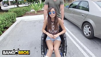 BANGBROS - We Didn't Bring Kimberly Costa's Handicapped Ass On The Bang Bus For The Parking Privileges LOL