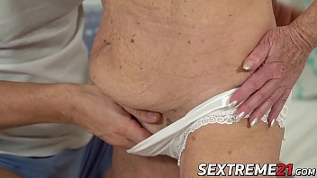 Kinky granny pounded by a y. dick