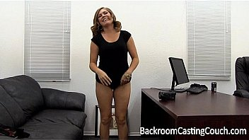 Tinder MILF Slut Assfuck Painal & Creampie on Backroom Casting Couch
