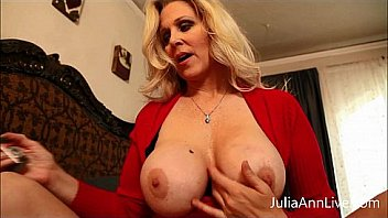 busty stepmom julia ann wants you to cum for her she shows just how jerk out that big load see the full video and meet live all included with your membership