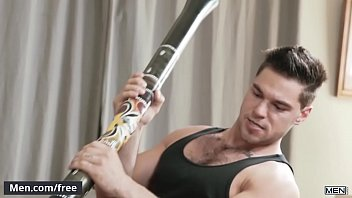 Men.com - (Aspen Jack Hunter) - Didgeridoo Me - Trailer preview