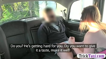 Big natural tits whore fucked by driver