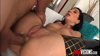 Inked brunette loves everything in her ass like toys, big dicks, and even her hand.