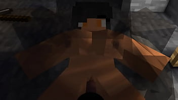 Minecraft Spider sex in a cave with Aphmau (FANMADE)