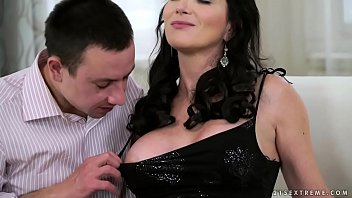 Busty granny and her y. lover - Silvie Sunny, Rob