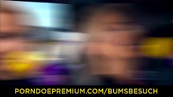 BUMS BESUCH - Enticing sex session with luscious European chick Thumbnail