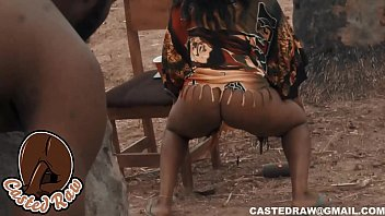 horny guy with a long cock fucked a twerking nigerian girl