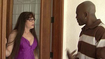 hot milf alexandra silk and pretty young babe scarlett wild invited black guy from ghetto to polish their wet pussies