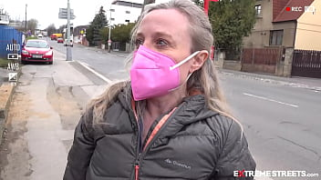 EXTREME STREETS - 10k USD Offered For Putting iPhone To Her Vagina