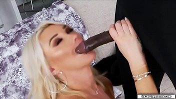 Watch Busty TS Aubrey Kate is now ready for her interracial anal sex.She pulls out black guys bigcock and she then throats it passionately.In return the guy barebacks her tight wet ass until he cums on her face. preview